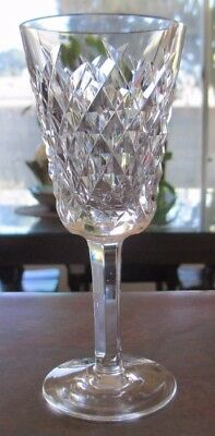 Waterford Crystal, Alana Sherry Glass, Excellent Condition
