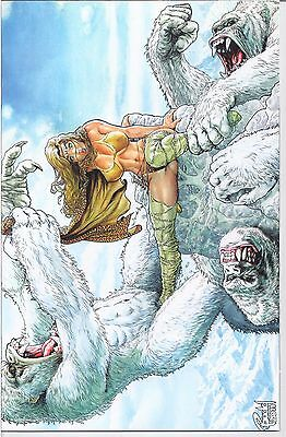 Cavewoman : Snow #3 Special Edition W/ Coa  Ltd To 750 Amryl 2011 /1645/