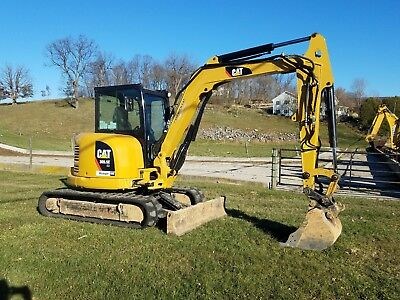 2014 Caterpillar 305.5E CR Mini Excavator Track Hoe Hydraulic Plumbed Blade Cat