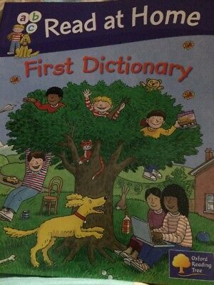 Oxford Reading Tree First Dictionary Children's abc Biff Chip Kipper Pictures