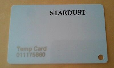 Stardust Casino Las Vegas, Nevada Temporary Slot Card Great For Any Collection!