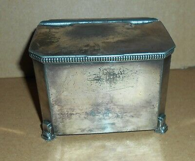 Antique Frank Cobb & Co Silver Plated Box
