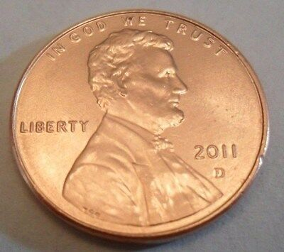 2011 D Lincoln Shield Cent / Penny  **FREE SHIPPING**
