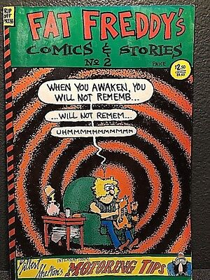 Fat Freddy's Comics And Stories #2 Third Printing