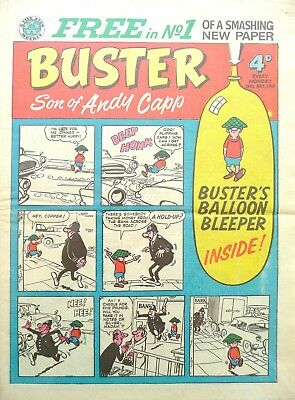 Uk Comics Buster Collection Of 500+ Humour Comics On Dvd