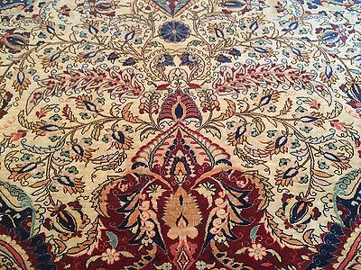 Very Rare Extremely Fine Turkish Hereke Silk Rug 3'x5' 3.5 Million Knots