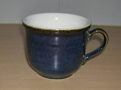 BHS BRECON BLUE CUP - 3inchs TALL,  3.5inch DIAMETER