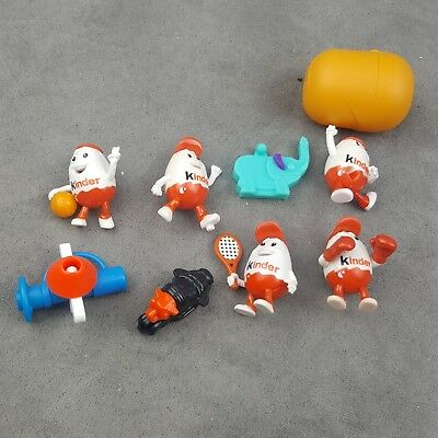 Lot Of Eight (8) Kinder Egg Toys