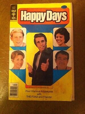 Rare Happy Days Comic Book - Issue #1