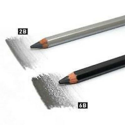 ArtGraf Water Soluble Graphite Pencil Singles Choose Your Grade 2B or 6B