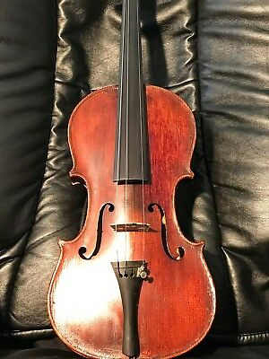 Antiqe, Vintage  Blocked  American Labelled Full-Size Acoustic Violin .2 Labels