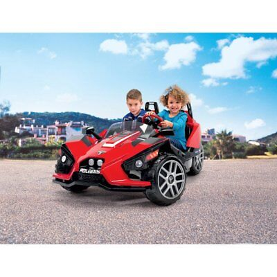 Peg Perego Polaris Slingshot Electric Battery Operated Ride On with MP3 Holder