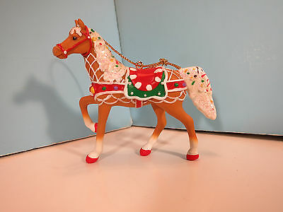 Trail Of Painted Ponies-Sweet Treat Round Up- Hanging Christmas Ornament-NIB