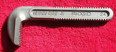 """Ridgid 24"""" Pipe Wrench Movable Jaw Used  Made in USA"""