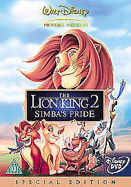 The Lion King 2 - Simba's Pride (DVD, 2004, R2)New Sealed Free P&P 5017188813655