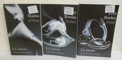 E.L. James: Complete Fifty Shades of Grey Trilogy (3 Trade Softcover Books)