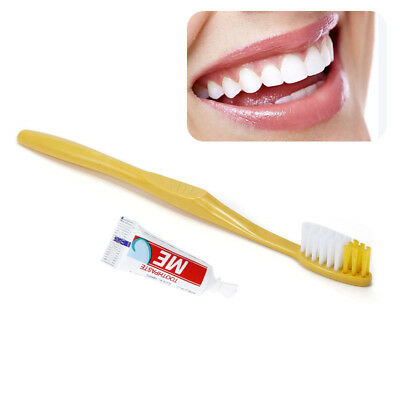 1/10/50/100pcs Hotel Bathroom Disposable Supplies Toothbrush Toothpaste RZM3