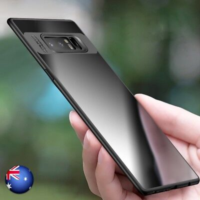 For Samsung Note 8/ S8 Plus Ultra thin Slim Clear Shockproof Bumper Case Cover