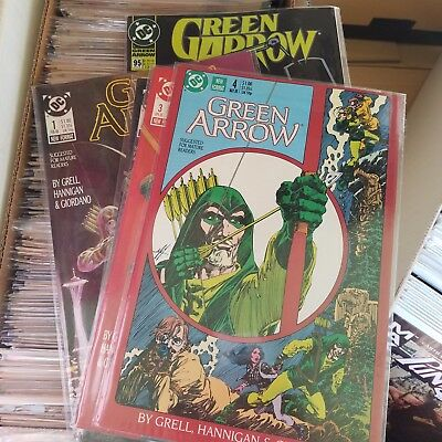 Green Arrow (1987) Lot - Huge Complete Run of Issue #s 1-80, Mike Grell + More