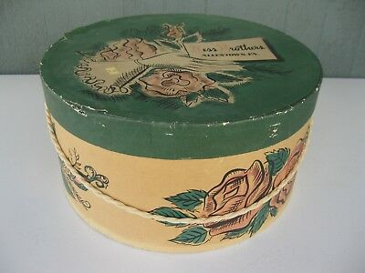 Vintage Department Store Hat Box Hess Brothers Allentown PA
