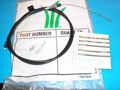 New Control Cable Fits Mtd And Many Brands 746-0929 Oem Free Shipping C8