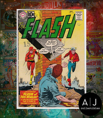 The Flash #123 (DC) VG! HIGH RES SCANS!