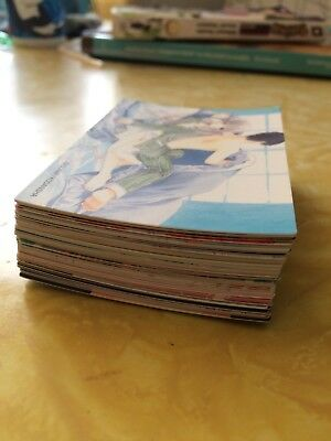 Clamp Kodansha Japanese Chobits Manga 55 card lot KCDX