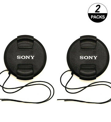 2X NEW Sony 55mm Cap Front Lens Cover For Sony HX300 HX400 DSC-HX400 Camera Lens