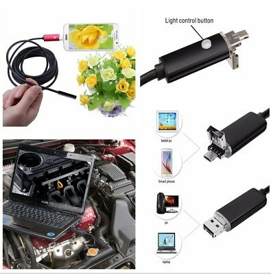 5M Long 7.0MM Lens USB Inspection Camera HD Endoscope Android for Car Equipment