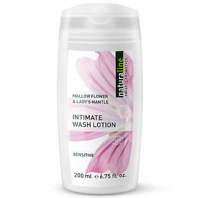 Naturaline Mallow Flower Sensitive Intimate Wash Lotion 200ml