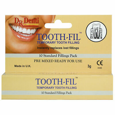 Dr Denti Temporary Tooth Filling 10 pack 3g