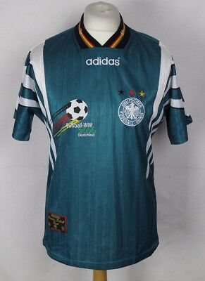 Vintage 96/98 Germany Away Kit Jersey Size XL f47UT