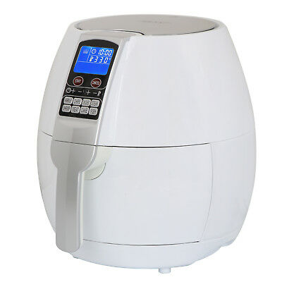 Electric Air Fryer W/ 8 Cooking Presets, Temperature Control, Timer- White