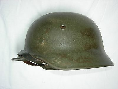 Ss German Helmet M40 Monodecal From Gothic Line - Elmetto Waffen Ss M40 Ww2 Wwii