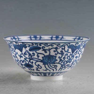 Chinese Porcelain Handmade Flowers Bowls Made During The Daqing Qianlong Period