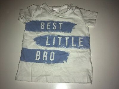 Best Little Brother Bro T Shirt 6-9 Months Next Baby Boy