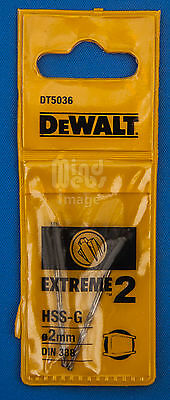 DeWalt FULL SIZE RANGE EXTREME Professional Drill Bits in Plastic Sleeves