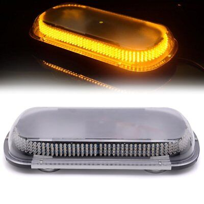 "368 LED 17""Traffic Advisor Emergency Warning Directional Strobe Light Bar YELLOW"