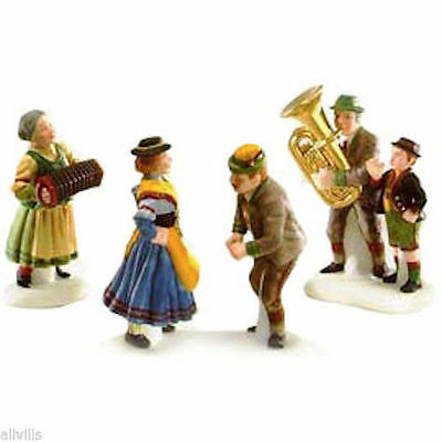 POLKA FEST #56073 Dept 56 RETIRED ALPINE VILLAGE ACCESSORY MUSICIANS