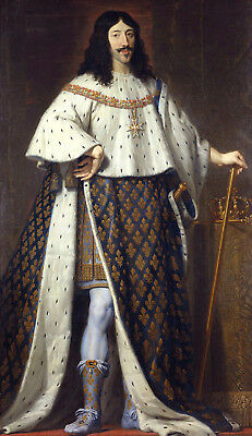 King Louis XIII of France with Order of Saint Esprit Sash /& Badge 6x5 Inch Print