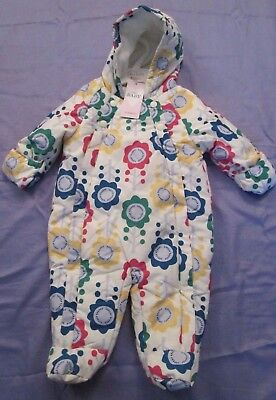 Girls Ex M & S Stormwear All In One Fleece Lined Snow Suit 7 Sizes