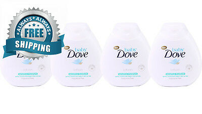Dove Baby Lotion Sensitive Moisture, Fragrance Free, 6.75 Ounce (Pack of 4)