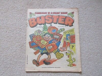 BUSTER COMIC- Dec 20th 1980 good condition - , Christmas Is Coming issue