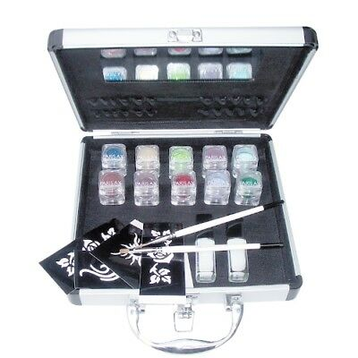 Coffret Kit pro paillettes tatoo Parisax