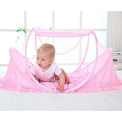 Travel Beds Crib ,Baby Tent, ,Instant Pop Up Portable With Mosquito Net Pad
