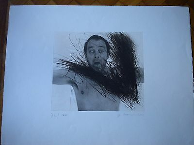 Arnulf Rainer etching