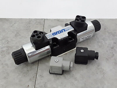 Aron Hydraulic CETOP 3 (Ng6) 2 Position Directional Valve AD3E20D 24VDC *