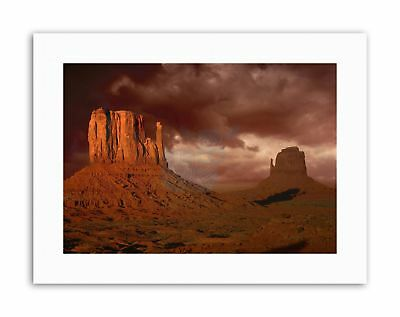 MONUMENT VALLEY ARIZONA GRAND CANYON USA PHOTO Poster Picture Canvas art Prints