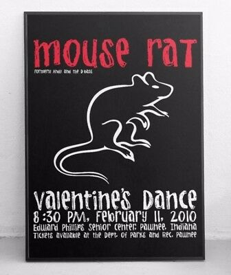 Mouse Rat poster / Print / Art - Parks and Recreation