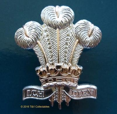 ROYAL REGIMENT OF WALES (21st/41st Foot) CAP BADGE (NN1)